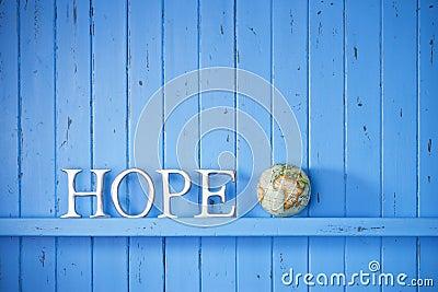 Hope World Globe Background