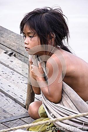 Hopeless Girl Editorial Photography