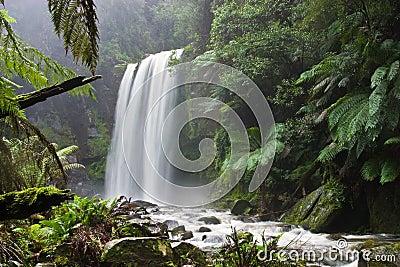 Hopetoun Falls in Victoria, Australia