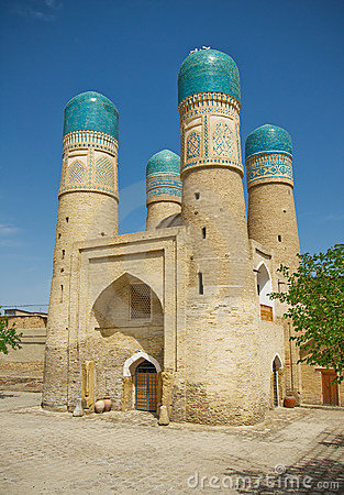 �hor-Minor minaret, Bukhara