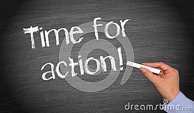 Hora para a ação