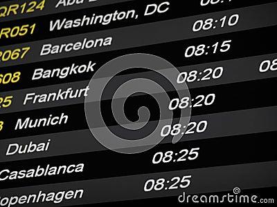 Horario de vuelo