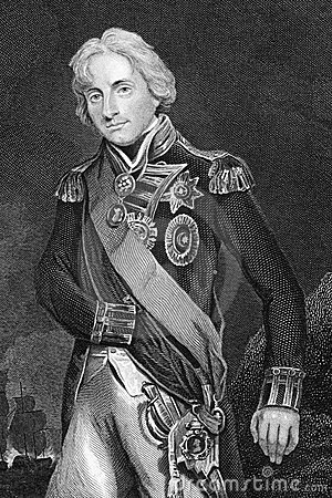 Horatio Nelson, 1st Viscount Nelson Editorial Photo