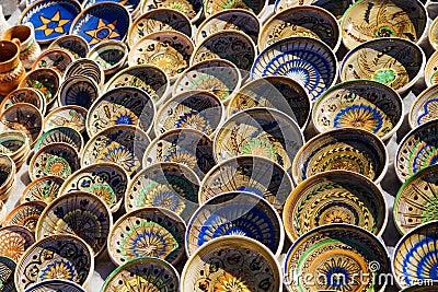 Horezu Traditional pottery