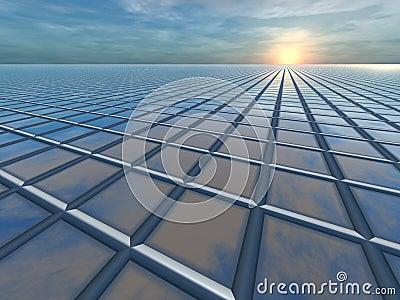 Horizon Grid Perspective