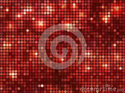 Horizontaal rood mozaïek