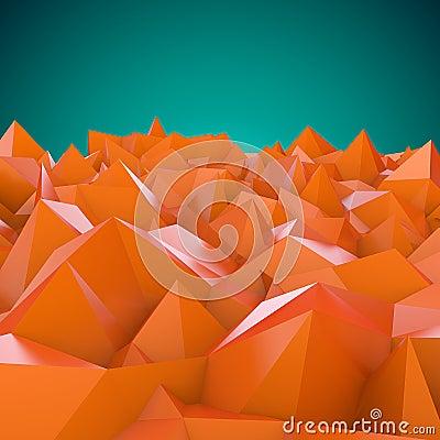 Horizontal abstrait