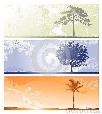 Horizontal backgrounds for design