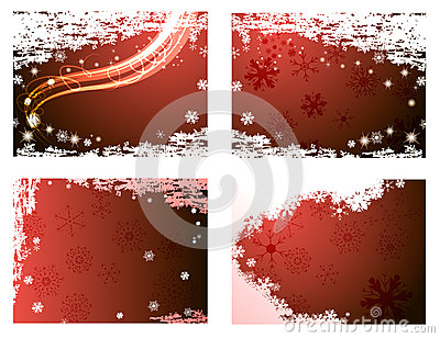 Horizontal Christmas backgrounds