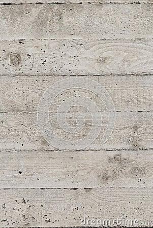 Horizontal concrete texture
