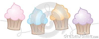 Horizontal Cupcakes
