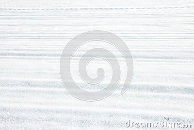 Horizontal furrow