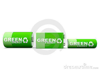 Horizontal Green Energy Batteries