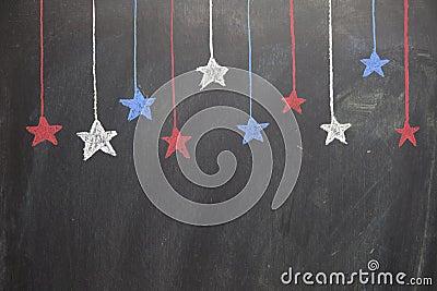 Horizontal Hanging Stars