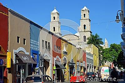 Historic  Merida, Mexico Editorial Image