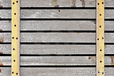 Horizontal pale wood