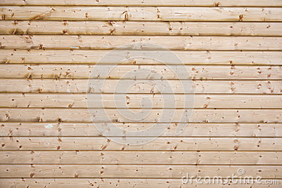 Fencing with horizontal pattern