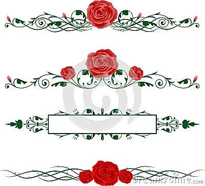 Horizontal Roses