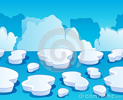 Horizontally seamless sea ice 1