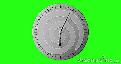 Horloge banque de vidéos