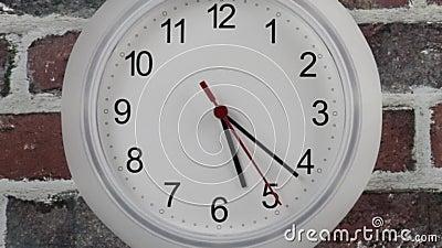 Horloge accélérée banque de vidéos