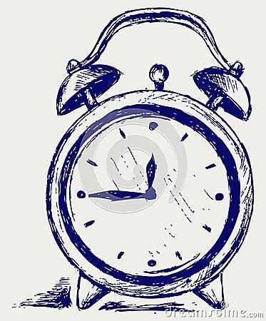Horloge d alarme