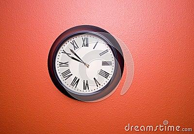 horloge de chiffre romain photo libre de droits image 2361265. Black Bedroom Furniture Sets. Home Design Ideas
