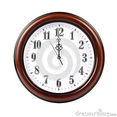 Horloge de mur - chemin