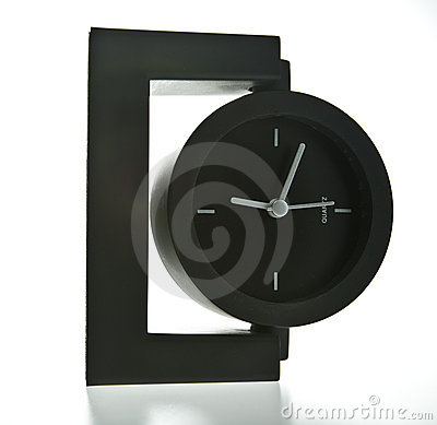 Horloge moderne de bureau de type photo stock image 6081530 - Horloge de bureau windows ...