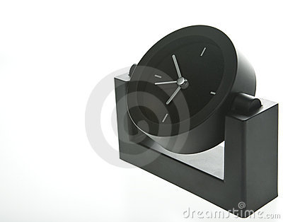 horloge moderne de bureau de type photos stock image 6201173. Black Bedroom Furniture Sets. Home Design Ideas