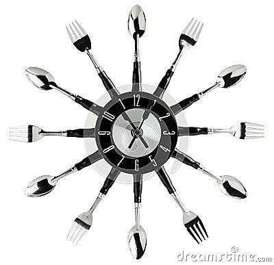Horloge murale de cuisine photo stock image 48908658 - Horloge murale cuisine ...