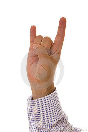 Horn gesture