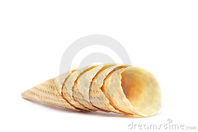 Horn for ice cream
