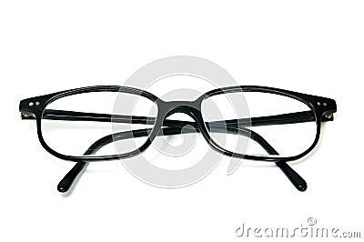 Horn-rimmed glasses