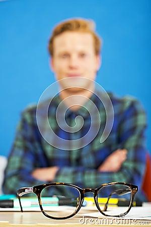 Horn Rimmed Glasses