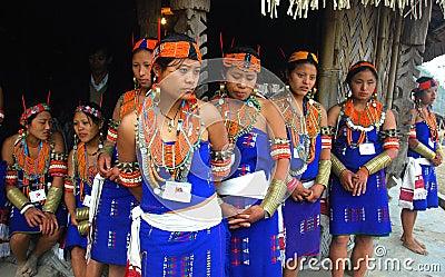 Hornbill festival of Nagaland-India Editorial Image