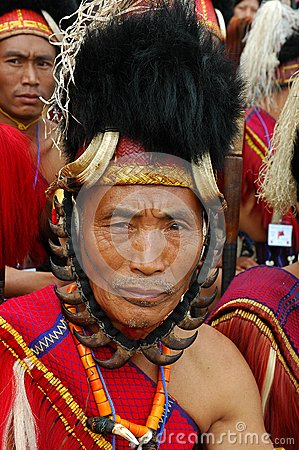 Hornbill Festival of Nagaland-India. Editorial Photography