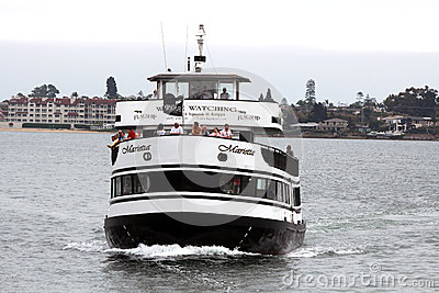 Hornblower Cruise Ship, San Diego Editorial Image