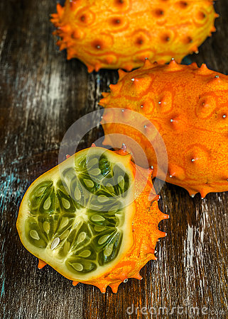 Free Horned Melon Stock Image - 79127201