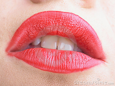 Horny Passion Red Lips