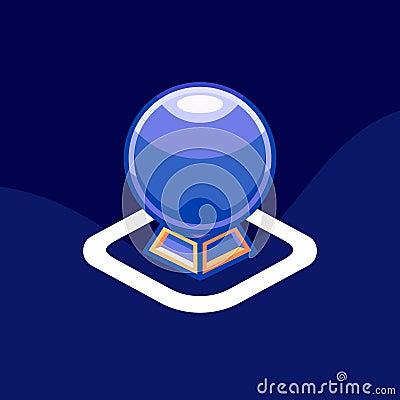 Horoscope icon / logo. Art illustration Cartoon Illustration