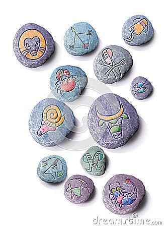 Horoscope stones