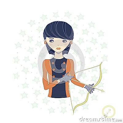 Horoscope. Zodiac signs-Sagittarius.