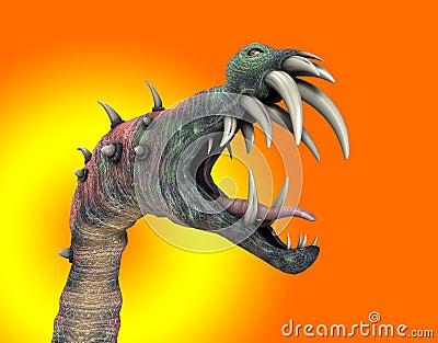 Horrible Halloween Monster