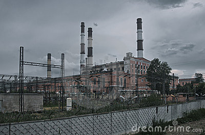 Horrible power plant