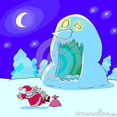 Horrible Snowman