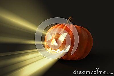 Horrifying helloween pumpkin