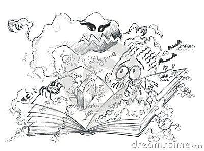Horror book