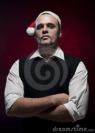 Horror Christmas Elf.