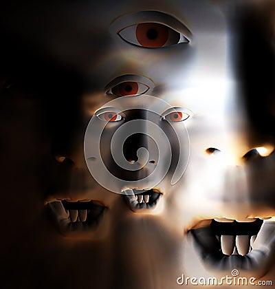 Horror Face 66